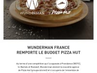 wunderman france - pizza hut